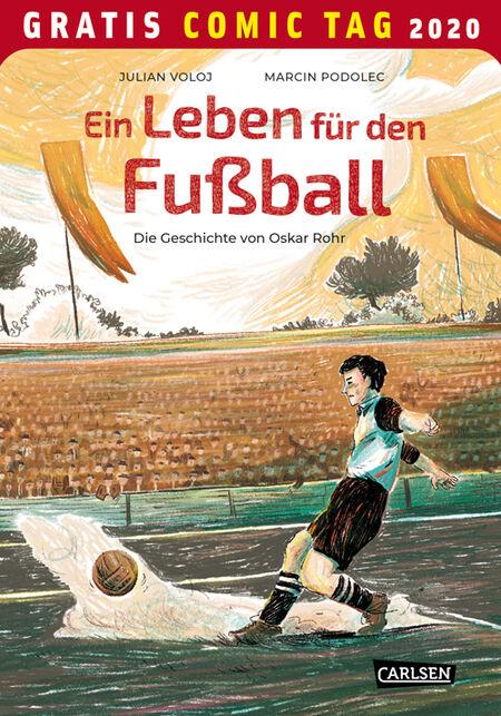 Ein Leben für den Fußball – Gratis Comic Tag 2020 - Das Cover