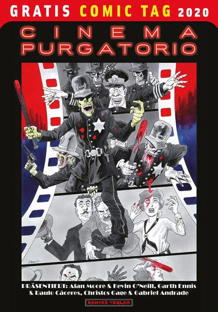 Cinema Purgatory – Gratis Comic Tag 2020  - Das Cover