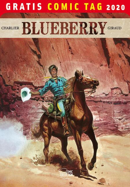 Blueberry – Gratis Comic Tag 2020 - Das Cover