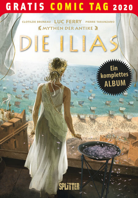 Mythen der Antike: Die Illias - Gratis-Comic-Tag 2020 - Das Cover