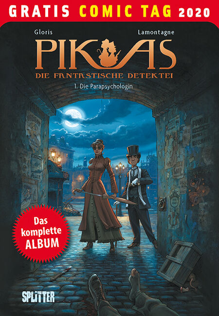 Pik-As 1: Die Parapsychologin - Gratis-Comic-Tag 2020 - Das Cover