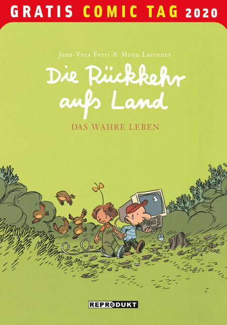 Die Rückkehr aufs Land: Das wahre Leben - Gratis-Comic-Tag 2020 - Das Cover