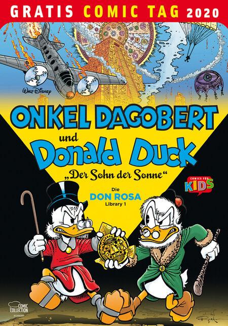 Onkel Dagobert und Donald Duck: Der Sohn der Sonne - Die Don Rosa Library 1 - Gratis-Comic-Tag 2020 - Das Cover
