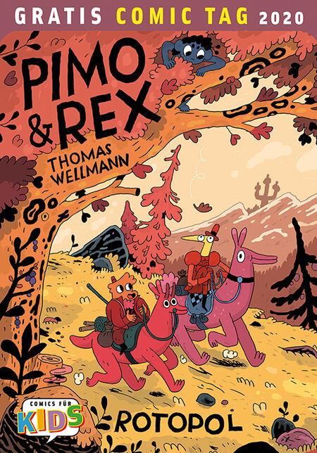 Pimo & Rex - Gratis-Comic-Tag 2020 - Das Cover