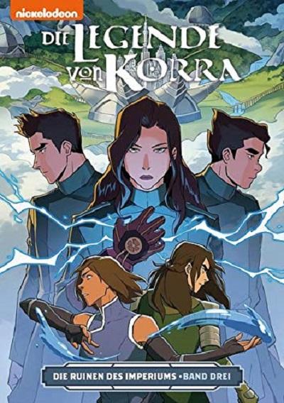 Die Legende von Korra 6: Die Ruinen des Imperiums 3 - Das Cover