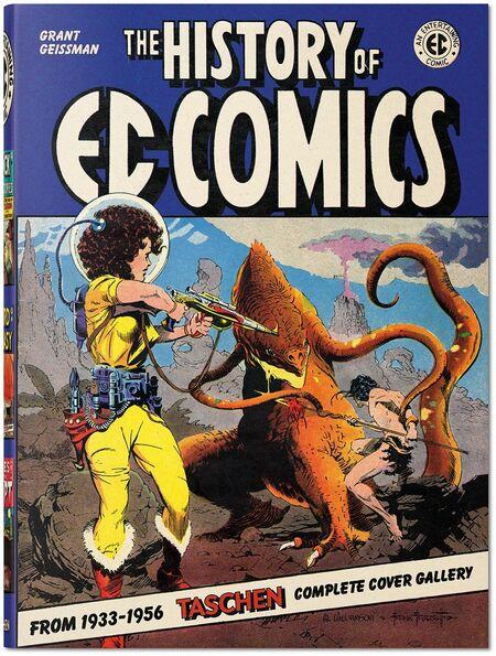 The History of EC Comics - Das Cover