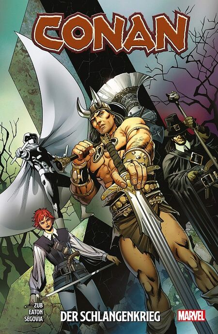 Conan: Der Schlangenkrieg - Das Cover