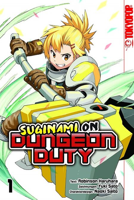 Suginami on Dungeon Duty 1 - Das Cover