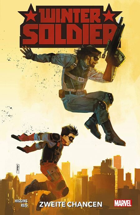 Winter Soldier: Zweite Chancen - Das Cover