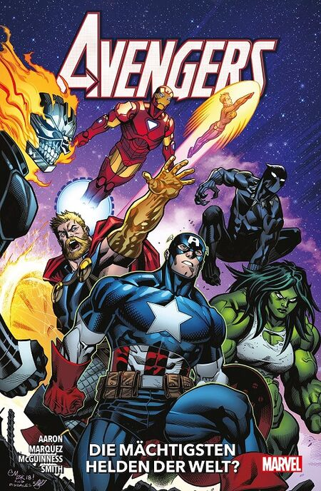 Avengers 2: Die mächtigsten Helden der Welt?  - Das Cover