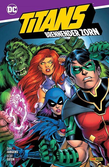 Titans: Brennender Zorn  - Das Cover