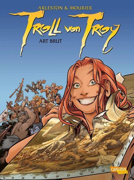 Troll von Troy 23: Art Brut - Das Cover