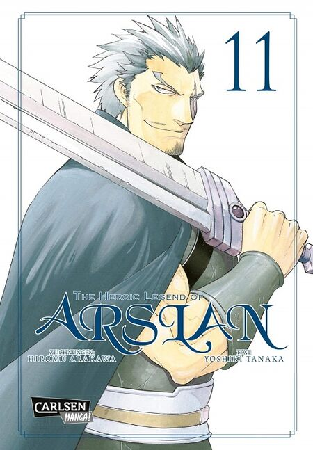 The Heroic Legend of Arslan 11 - Das Cover