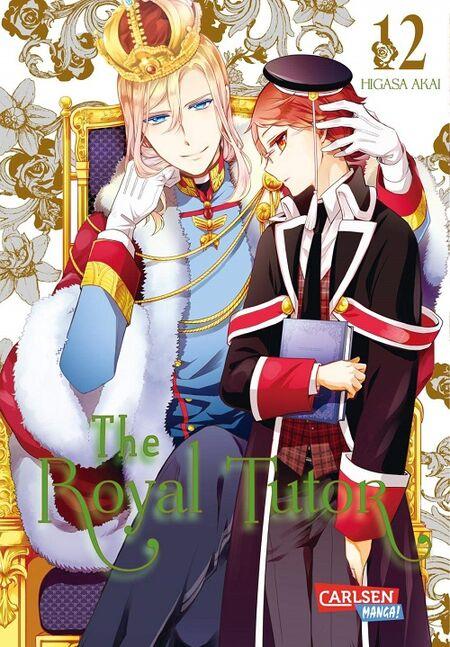 The Royal Tutor 12 - Das Cover