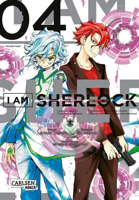 I am Sherlock 4 - Das Cover