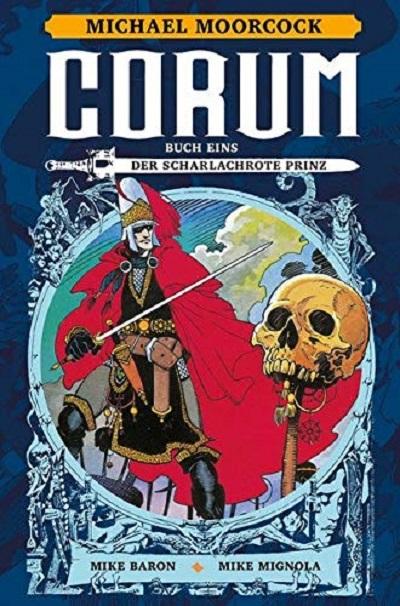 Michael Moorcock: Corum Buch 1 – Der scharlachrote Prinz  - Das Cover