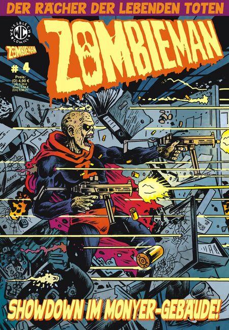 Zombieman 4 - Das Cover