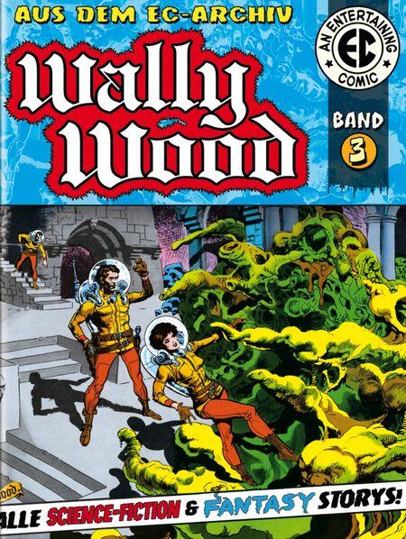 EC Archiv Wally Wood  – Gesamtausgabe 3 - Das Cover