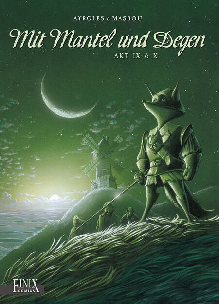 Mit Mantel und Degen Akt IX & X - Das Cover