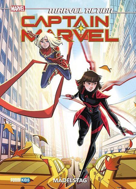 Marvel Action Captain Marvel 2: Mädelstag - Das Cover