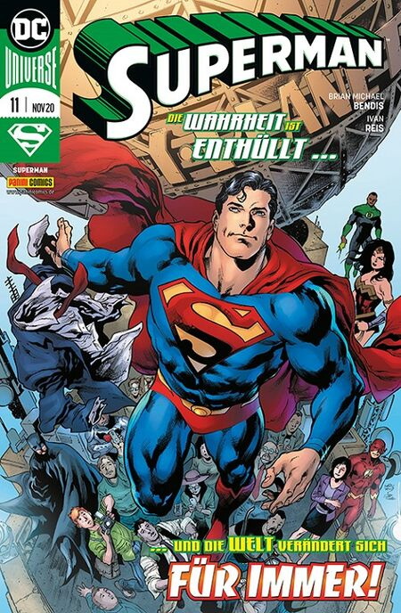 Superman 11 - Das Cover