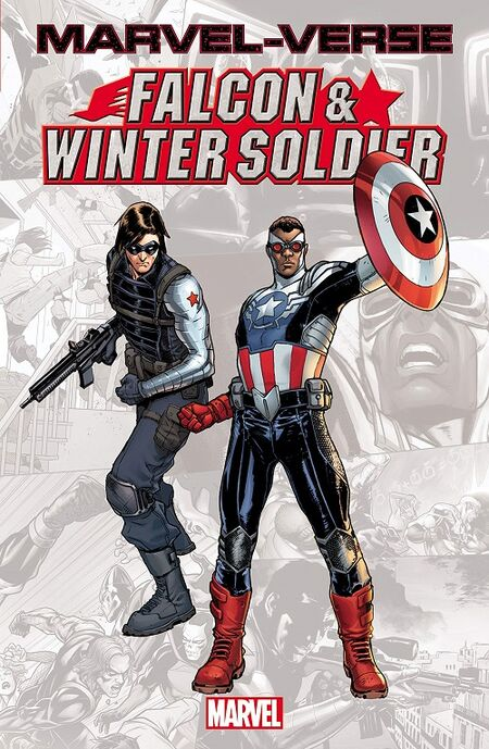 Marvel-Verse: Falcon and the Winter-Soldier - Das Cover