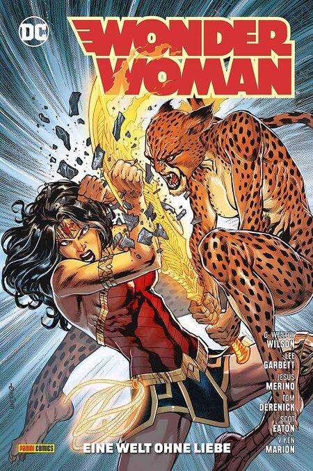 Wonder Woman 12: Eine Welt ohne Liebe - Das Cover