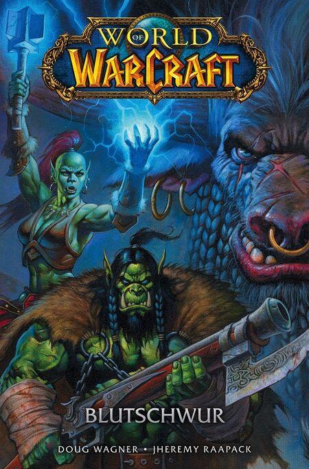 World of Warcraft: Blutschwur  - Das Cover