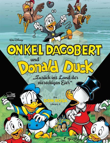 Die Don Rosa Library 2 - Zurück ins Land der viereckigen Eier  - Das Cover