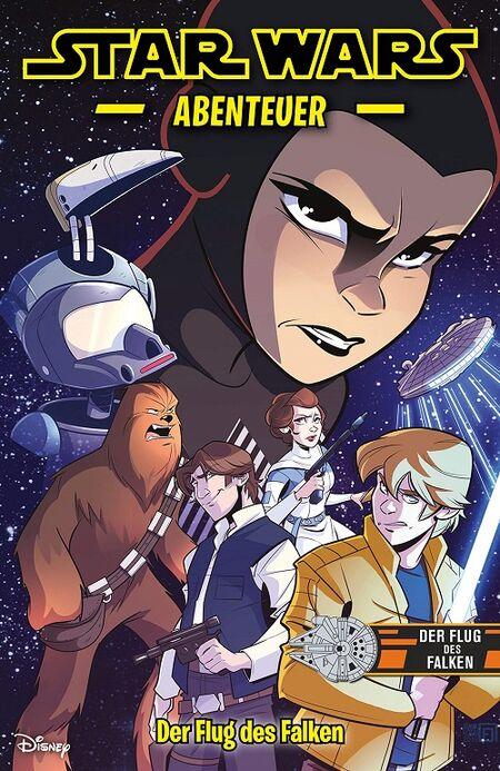 Star Wars Abenteuer: Der Flug des Falken  - Das Cover