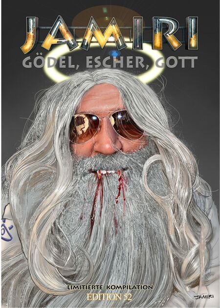 Gödel, Escher, Gott - Das Cover