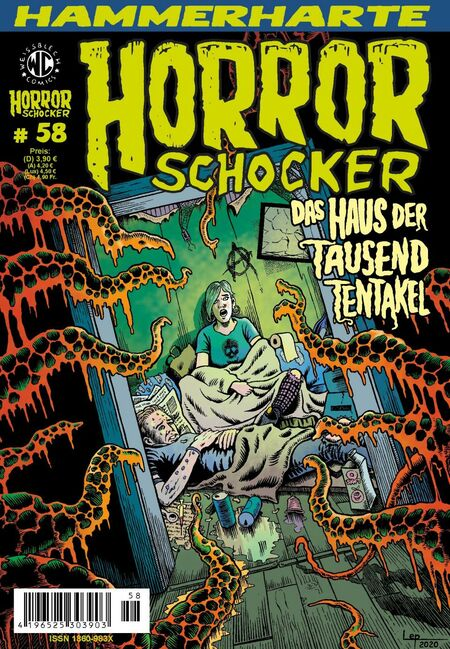 Horrorschocker 58 - Das Cover