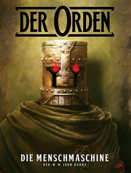 Der Orden 1: Die Menschmaschine - Das Cover