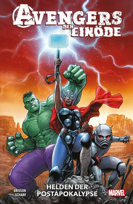 Avengers der Einöde: Helden der Postapokalypse - Das Cover