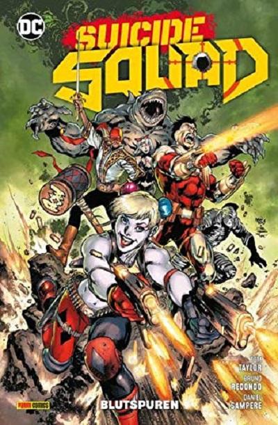 Suicide Squad 1: Blutspuren - Das Cover