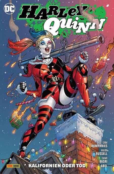 Harley Quinn 12: Ring frei für Harley! - Das Cover