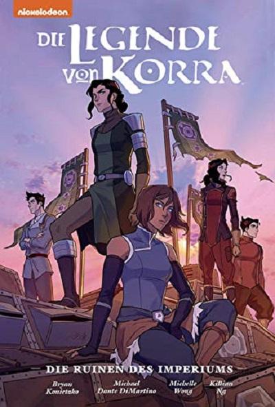 Die Legende von Korra: Ruinen des Imperiums– Premium - Das Cover