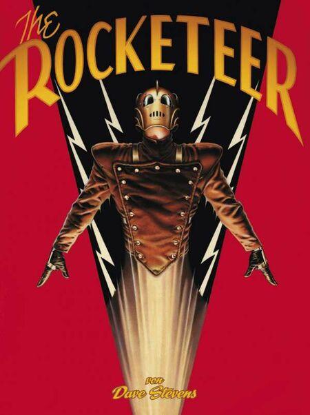 The Rocketeer – Neue Edition - Das Cover