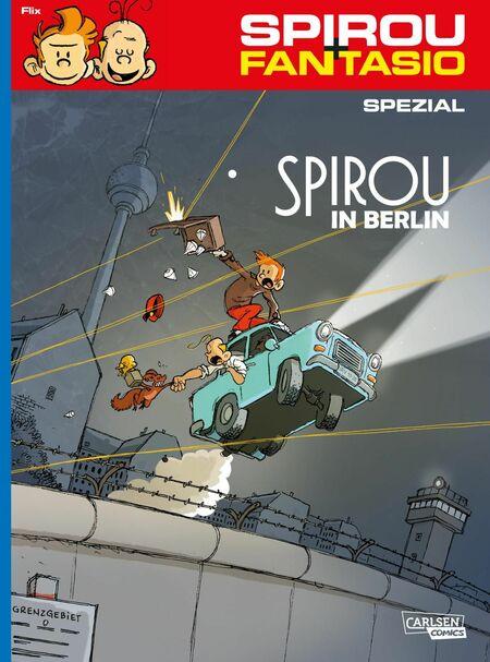 Spirou und Fantasio Spezial 31: Spirou in Berlin - Das Cover