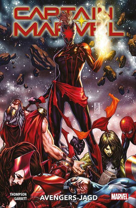 Captain Marvel 3: Avengers-Jagd - Das Cover