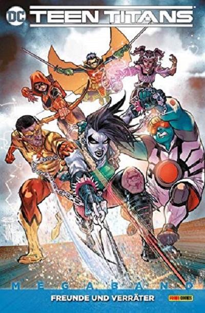 Teen Titans 3: Freunde und Verräter - Das Cover