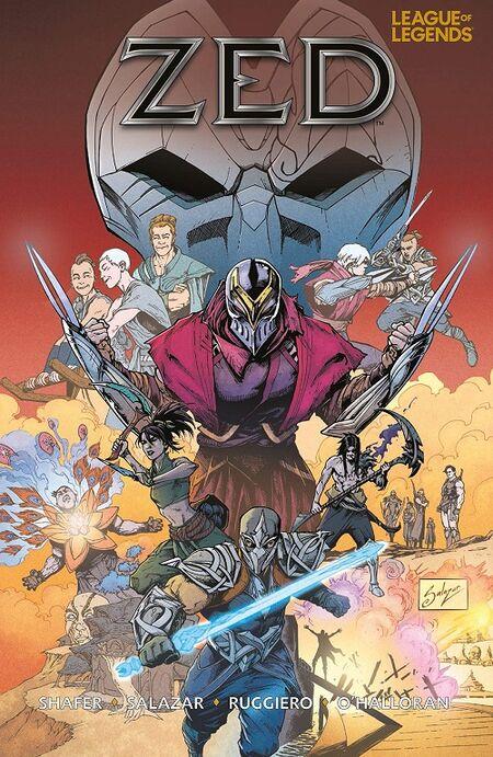 League of Legend: Zed - Das Cover
