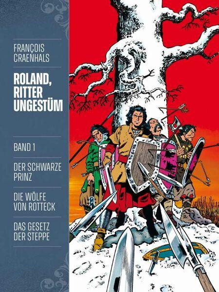 Roland, Ritter Ungestüm 1: Neue Edition  - Das Cover