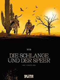 Schlange und Speer 1: Schatten-Berg - Das Cover