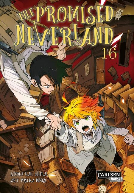 The Promised Neverland 16 - Das Cover