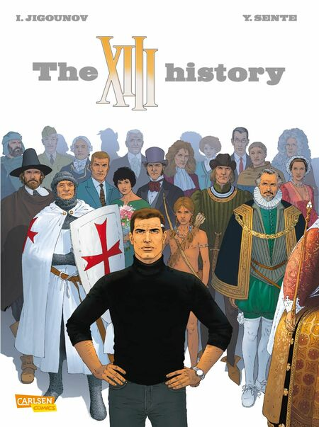 The XIII History – Ein Dossier von Danny Finkelstein - Das Cover