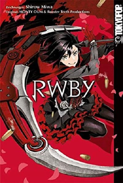 RWBY - Das Cover