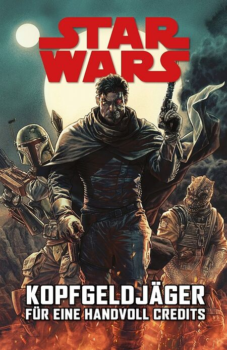 Star Wars Sonderband: Kopfgeldjäger – Für eine Handvoll Credits - Das Cover