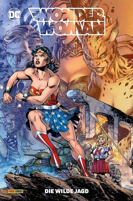 Wonder Woman 13: Die wilde Jagd  - Das Cover