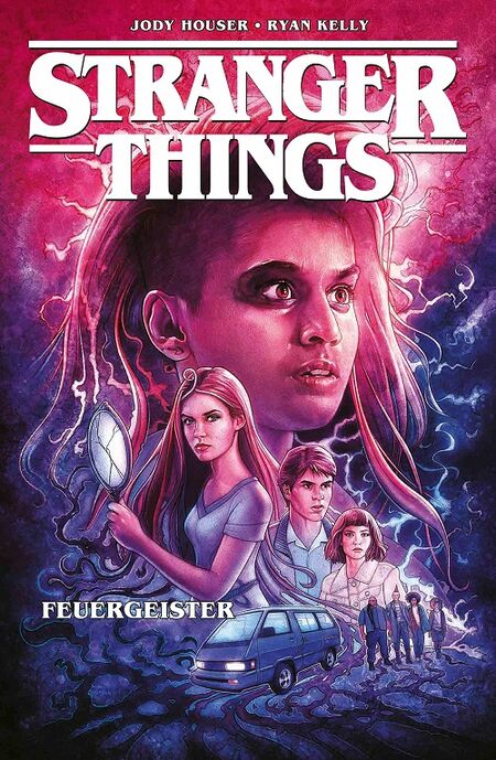 Stranger Things 3: Feuergeister - Das Cover